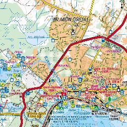 szlaki wodne mazury mapa