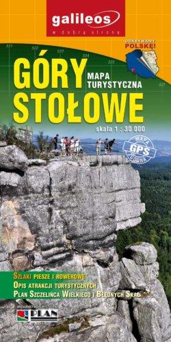Góry Stołowe - widok mapy papierowej