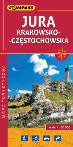 Front okładki Jura Krakowsko-Częstochowska