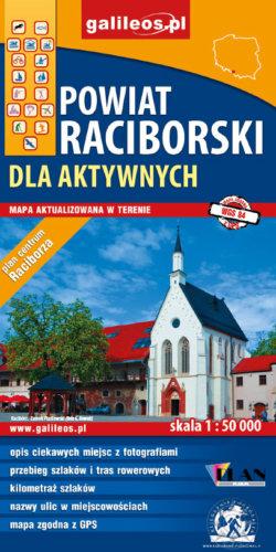 Front okładki Powiat Raciborski dla aktywnych