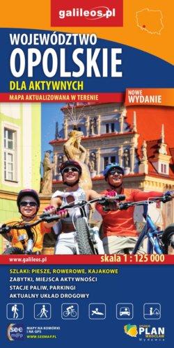 Front okładki Województwo opolskie dla aktywnych