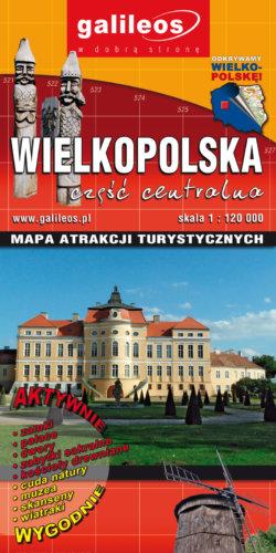 Front okładki WIELKOPOLSKA – część centralna