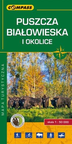 Front okładki Puszcza Białowieska i okolice