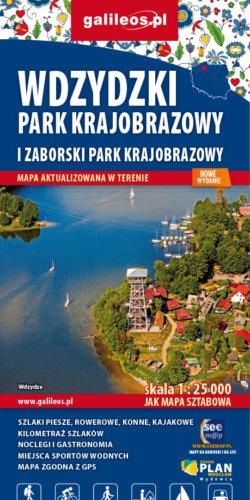 Front okładki Wdzydzki Park Krajobrazowy i Zaborski Park Krajobrazowy