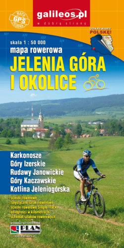 Front okładki Jelenia Góra i okolice mapa rowerowa