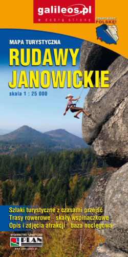 Rudawy Janowickie - widok mapy papierowej