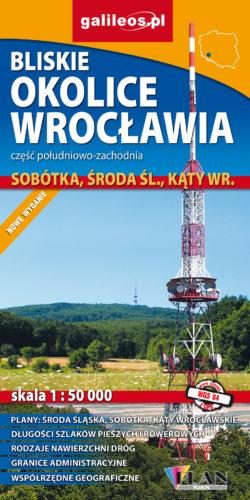 Front okładki Bliskie okolice Wrocławia część południowo-zachodnia
