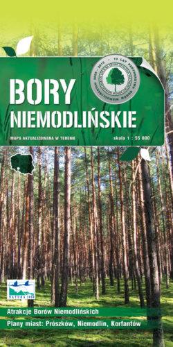 Front okładki Bory Niemodlińskie