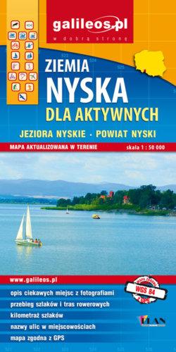 Front okładki Ziemia Nyska dla aktywnych