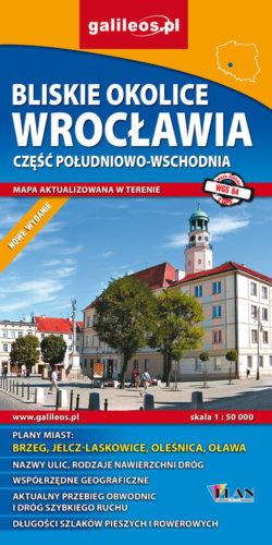 Front okładki Bliskie okolice Wrocławia część południowo-wschodnia