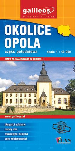 Front okładki Okolice Opola – część południowa
