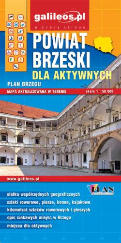 Front okładki Powiat brzeski dla aktywnych