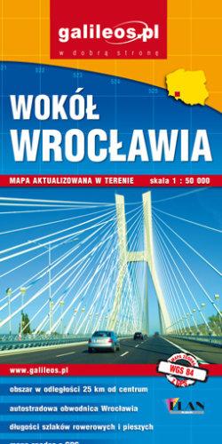 Front okładki Wokół Wrocławia