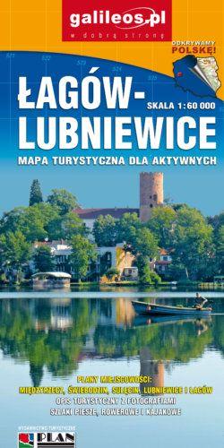 Pojezierze Łagowskie Międzyrzecki Rejon Umocniony - widok mapy papierowej