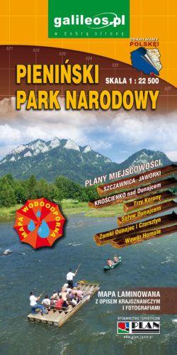 Front okładki Pieniński Park Narodowy