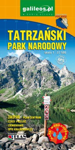 Front okładki Tatrzański Park Narodowy