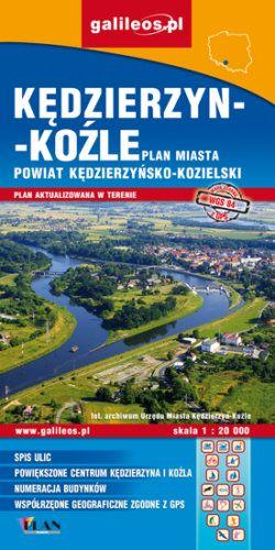 Front okładki Kędzierzyn-Koźle, powiat kędzierzyńsko-kozielski dla aktywnych