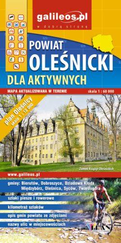 Front okładki Powiat oleśnicki dla aktywnych