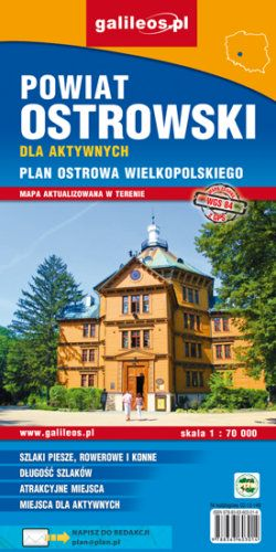 Front okładki Powiat ostrowski dla aktywnych