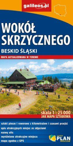 Front okładki Wokół Skrzycznego – Beskid Śląski