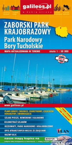 Front okładki Zaborski Park Krajobrazowy, Park Narodowy Bory Tucholskie