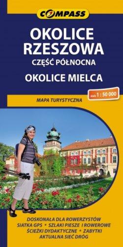 Okolice Rzeszowa - część północna - Okolice Mielca - widok mapy papierowej