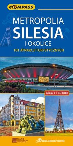 Front okładki Metropolia Silesia i okolice – 101 atrakcji turystycznych