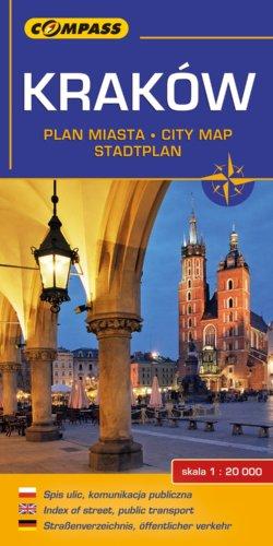 Front okładki Kraków plan miasta