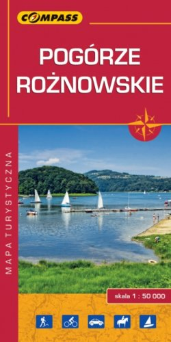 Front okładki Pogórze Rożnowskie