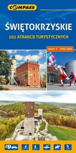 Front okładki Świętokrzyskie – 101 atrakcji turystycznych