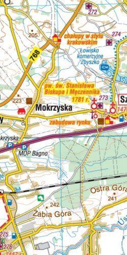 Ziemia Tarnowska. Tarnów - widok mapy papierowej