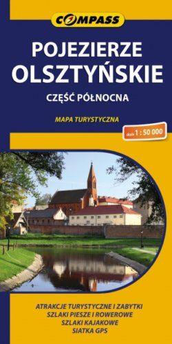 Front okładki Pojezierze Olsztyńskie – część północna