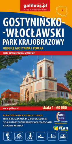Front okładki Gostynińsko-Włocławski Park Krajobrazowy