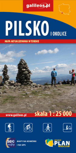 Front okładki Pilsko i okolice