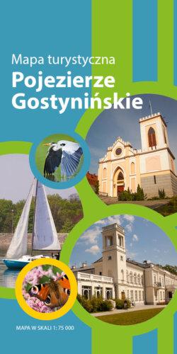 Pojezierze Gostynińskie - widok mapy papierowej