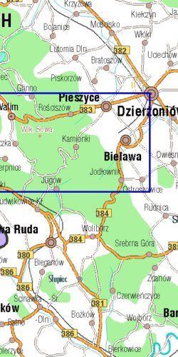 Wielka Sowa - widok mapy papierowej
