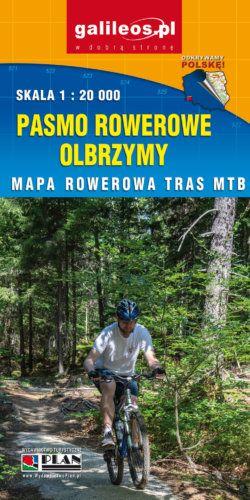 Pasmo Rowerowe Olbrzymy - Trasy rowerowe MTB w Karkonoszach - widok mapy papierowej