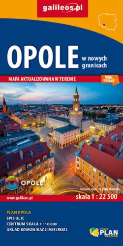 Front okładki Opole w nowych granicach administracyjnych