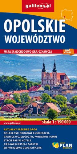 Front okładki Opolskie województwo