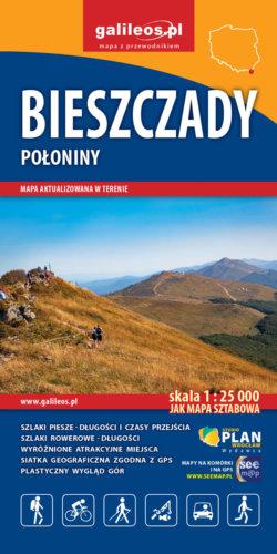 Front okładki Bieszczady Połoniny