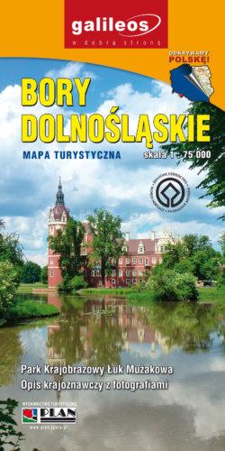 Front okładki Bory Dolnośląskie, Przemkowski Park Krajobrazowy