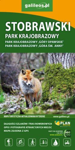Front okładki Stobrawski Park Krajobrazowy