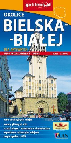 Front okładki Okolice Bielska-Białej dla aktywnych