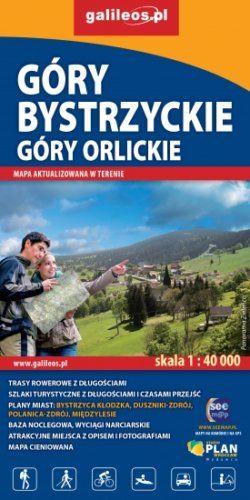 Front okładki Góry Bystrzyckie i Góry Orlickie