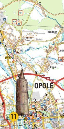 Województwo opolskie dla aktywnych - widok mapy papierowej