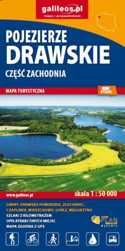 Front okładki Pojezierze Drawskie – część zachodnia