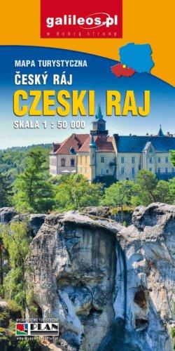 Czeski Raj - widok mapy papierowej