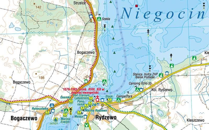 Wielkie Jeziora Mazurskie Mapy Gps Sklep Z Mapami Nawigacja