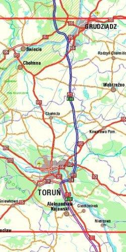 Ziemia Chełmińska - widok mapy papierowej