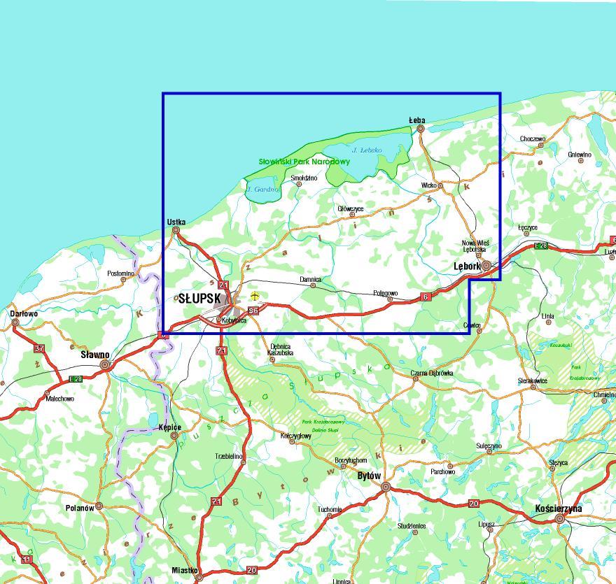 Nietypowy Okaz Wybrzeże Słowińskie – Mapy GPS sklep z mapami – nawigacja GM91